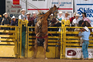 Snake River Stampede July 18, 2003 - 422, Ups 'N Downs with Rawley McFarland