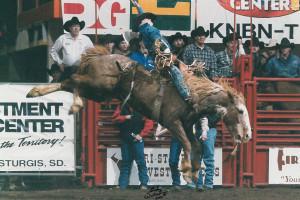 Black Hills Stock Show Rapid City Feb 01, 2001 - 610, Smoke Signal IICody Jessee, Fell under gate