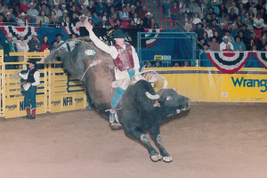 Dec 10, 1998 NFR - No 61 Zupatra aka The Mailman with Aaron Semas 7th Go 87 pts, 1st place