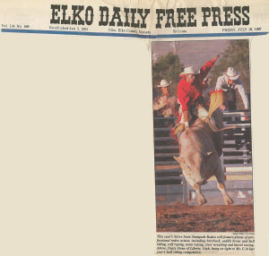 Elko daily press Silver state stampede 071897