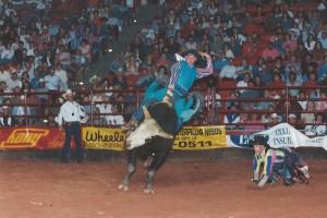 5th Annual Buck-a-Thon April 22, 1995 - G037 & Jr. Bullrider Champion, Lange Fay