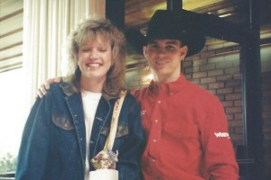 7th Annual Buck-a-Thon April 24, 1997 - Ramona Larson & Jim Sharp