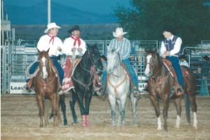 Clark County Rodeo April 7-9, 1995 - Steve Gilbert, Lewie Feild, Cody Lambert & Ty Murray