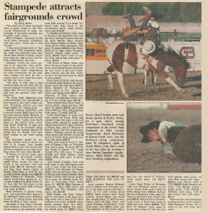 stampede attracts fairgrounds crowd 1997